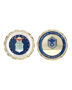 US Military Rank - Enlisted and Officer Challenge Coin