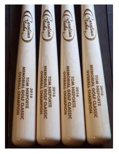 17 Unfinished Maple Baseball Bat